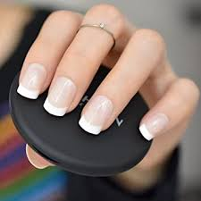 Faux Ongles Couleur Ou French